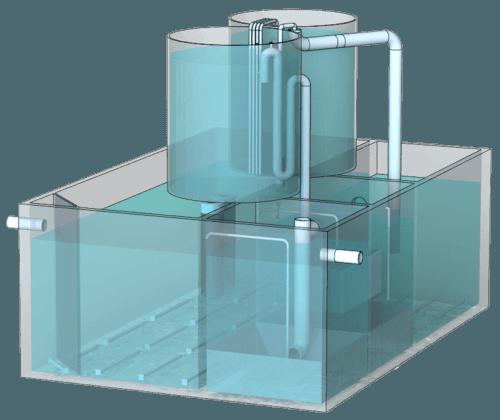 Blokové modulární nadzemní-pozemní instalace BIOTAL-BMT