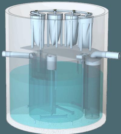 Моноблочные установки BIOTAL-MCD