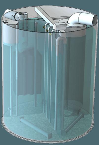 Моноблочные установки BIOTAL-MPW