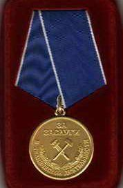 Орден «Бриллиантовая роса», Медаль «За заслуги в технической деятельности»